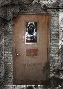 asylum door haunted house animatronic  horror dome