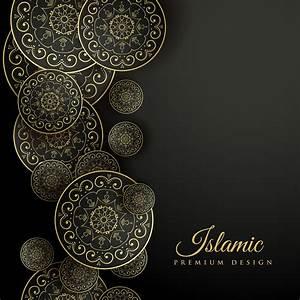 Beautiful, Islamic, Background, With, Mandala, Decoration
