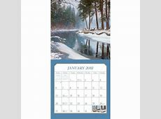 Countryside 2019 Wall Calendar