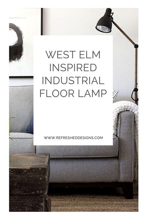 west elm industrial floor l west elm inspired industrial floor l an ikea hack