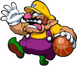 Mario Hoops 3 On 3 Wario