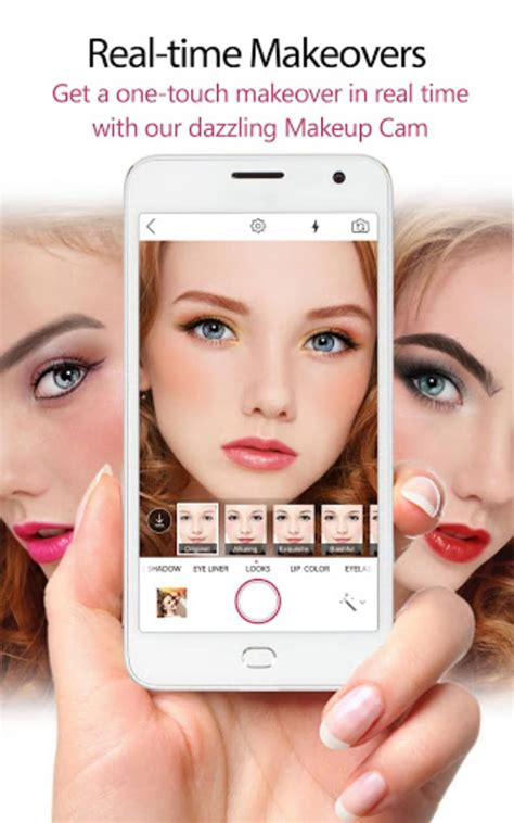 youcam makeup makeover studio  android