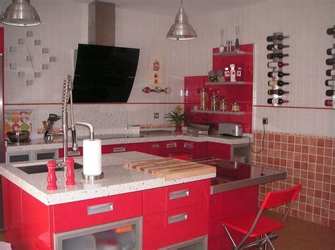las cocinas rojas decoracion cocinas cocinas modernas