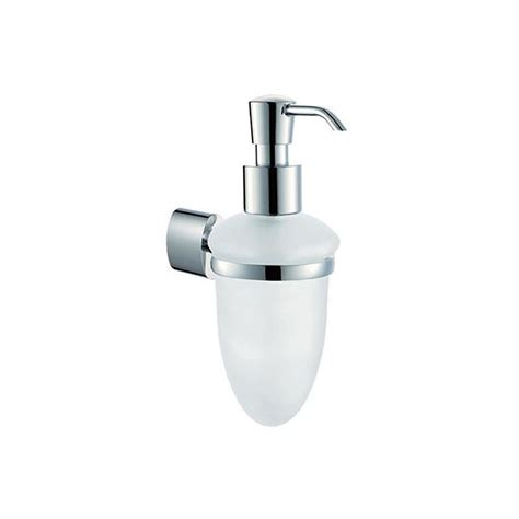 Glass Soap Dispenser Wall Mounted Buy Online at Bathroom City