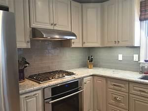 Kitchen : Surprising White Cabinets Backsplash And Also