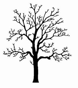 Oak Tree Silhouette Clip Art - ClipArt Best