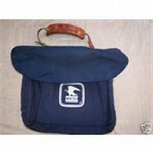 authentic u s postal service letter carrier bag w strap With letter carrier bag