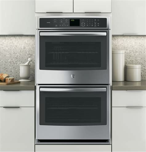 ge profile series  built  double wall oven  convection ptsfss ge appliances