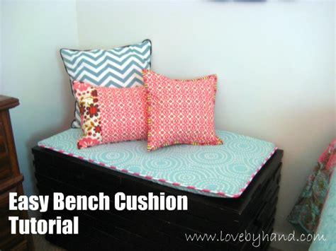 craftaholics anonymous     bench cushion