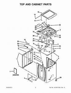 Whirlpool Wtw8500bw0 Parts List