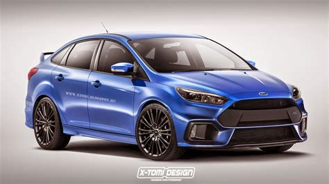 Ford Focus Redesign by 2019 Ford Focus Rs Redesign 1366 X 768 Auto Car Update