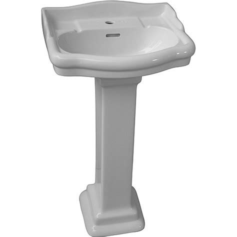 Barclay Pedestal Sink 460 barclay stanford 460 pedestal lavatory column white box