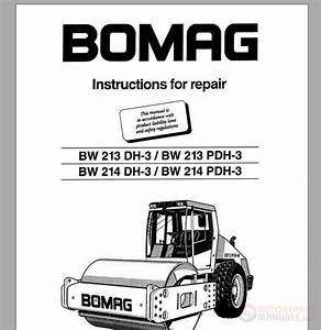 Bomag Instructions For Repair Bw213dh