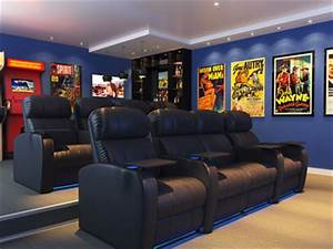 Creating your media room mr done right the premiere for Home theater furniture atlanta