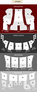 Seating Chart Bank Theater Chicago Cibc Theatre Chicago Il Seating Chart Stage