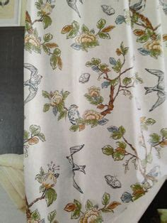 botanical bird shower curtain for the home