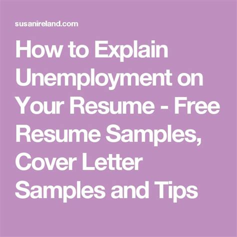 How To Cover Employment Gaps On Your Resume by Explain Gap In Employment On Resume
