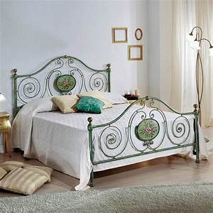 Bett 160x190 : doppelbett aus schmiedeeisen mit dekorationen rachael ~ Pilothousefishingboats.com Haus und Dekorationen