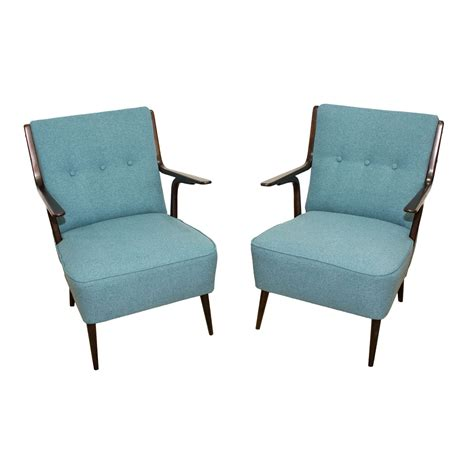Made Armchairs by Beautiful Pair Of Mid Century Armchairs Made In Italy In