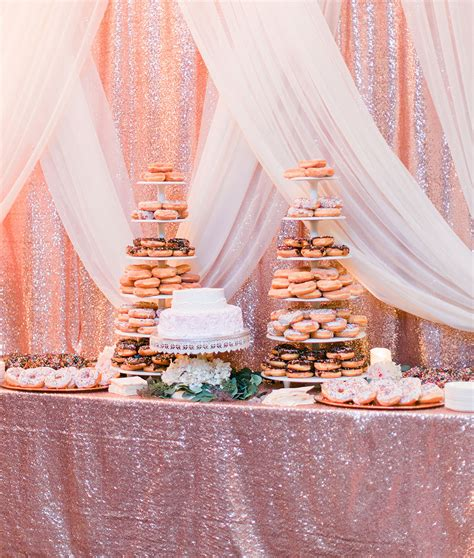 When Rose Gold and Black Make Wedding Magic Hitch Studio
