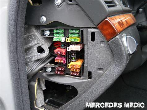 siege air liquide 2005 2011 mercedes cls fuse list