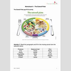 The Eatwell Plate By Gemorshdy  Teaching Resources Tes