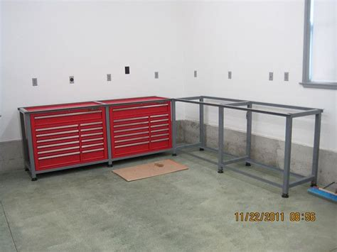 Under Bench Tool Storage by Hf Toolboxes Workbench Phase 3 Page 3 The Garage