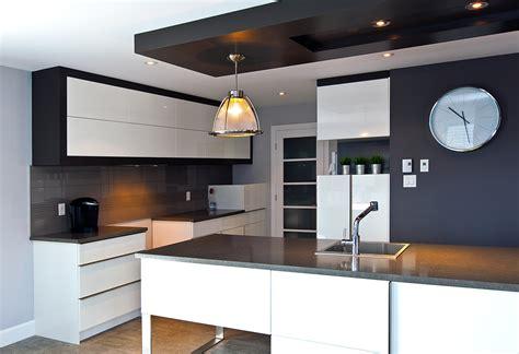 plafond de cuisine design decoration plafond platre cuisine