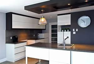 decoration plafond platre cuisine With d cor platre pour cuisine