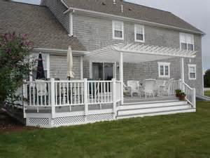 pergola designs on decks st louis mo pergola deck designs by archadeck st louis decks screened porches pergolas by