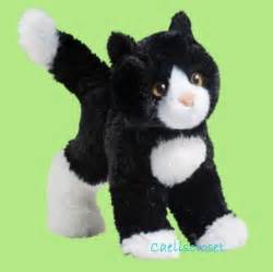 cat stuffed animals douglas plush snippy black and white cat stuffed tuxedo