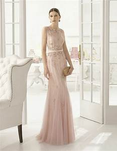 robe temoin rose palerobe longue de ceremonie rose pale With chambre bébé design avec robe ceremonie fleurie