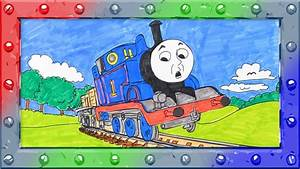 How To Coloring Thomas The Tank Engine  U2666 Coloring Page With Thomas And Friends  U2666 Colors Learning
