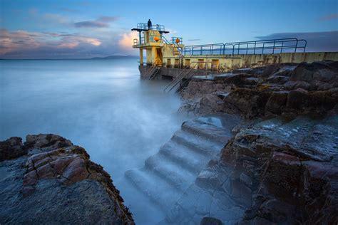 Blackrock Diving Tower, Salthill, Galway, Ireland ...