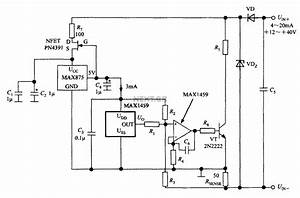 A Circuit Diagram Of The Digital Pressure Signal
