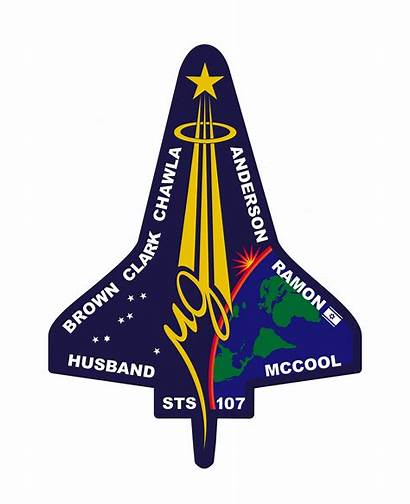 Sts Shuttle Columbia 107 Space Patch Mission