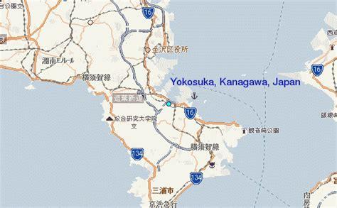 yokosuka map  yokosuka satellite image