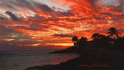 Screensavers Sunset Screensaver Tv Backgrounds Kauai Moments