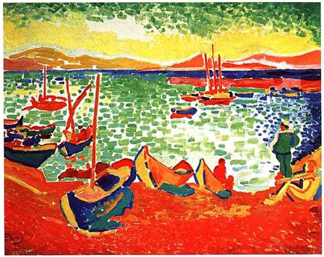 The Boat Matisse by Fauves Derain
