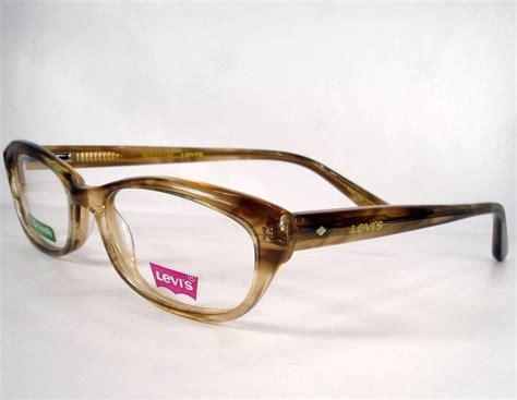 designer eye glasses levi s 605e demi eyeglasses eyewear new frames