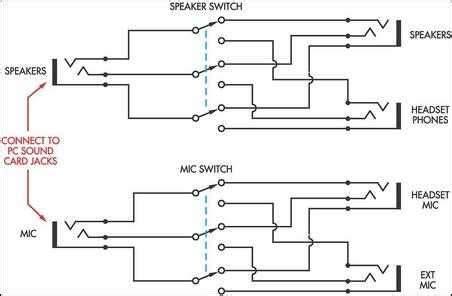 speaker headphone switch for computers eeweb community