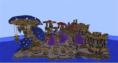 Minecraft Build Mushroom Kingdom Pollux Cool Mushrooms