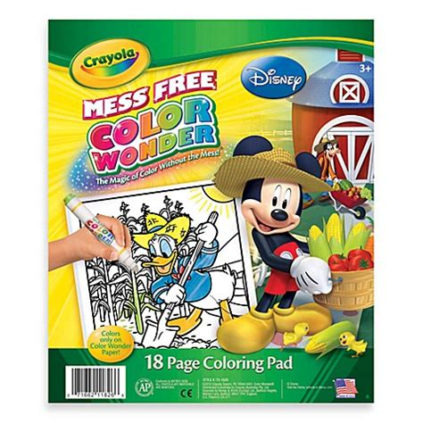 Crayola® Color Wonder Disney Jr Coloring Pad Bed Bath