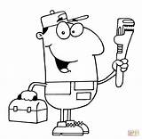 Plumber Coloring Pages Guy Clipart Drawing Driver Colouring Vector Taxi Paper Svg Printable sketch template