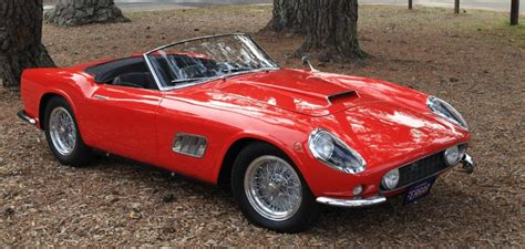 1959 Ferrari 250 Gt Lwb California Spyder At Gullwing