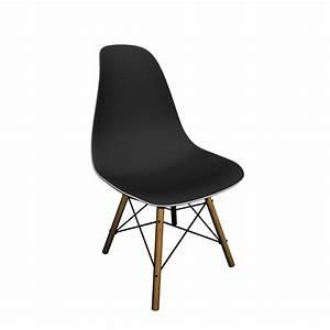 Eames Plastic Side Chair : eames plastic side chair dsw with full upholstery design and decorate your room in 3d ~ Frokenaadalensverden.com Haus und Dekorationen