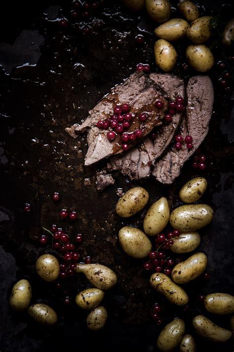 gigot de chevreuil sauce groseille ophelie s kitchen book