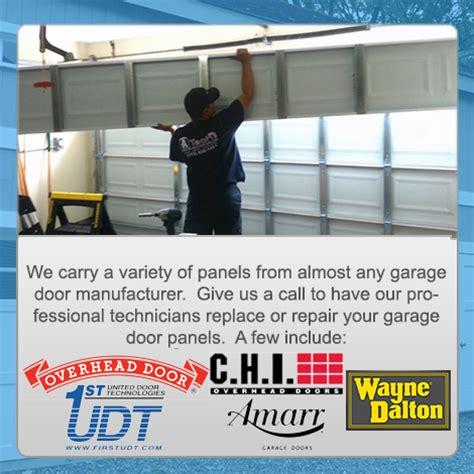how to fix garage door panel garage door repair ca 562 735 0499