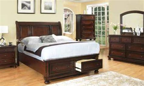 bedroom collection  furniture  rustic brown