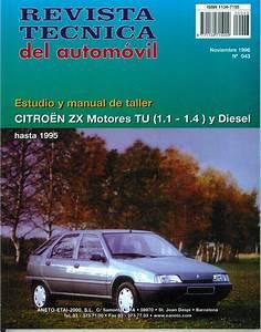 Manual De Taller Y Mecanica Citroen Zx Gasolina Y Diesel